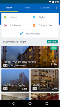 Expedia Hotels, Flights & Cars APK screenshot thumbnail 7