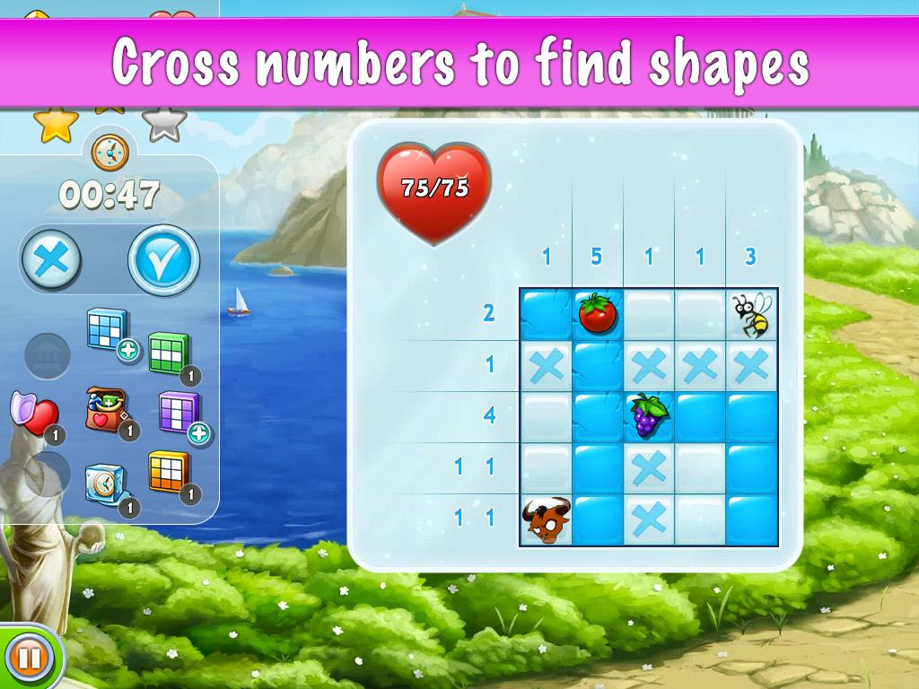 Riddle Stones - Cross Numbers- screenshot