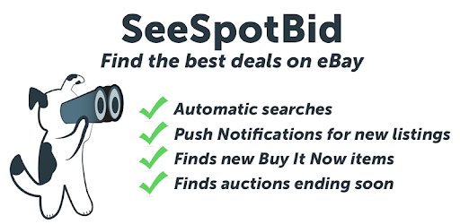 Seespotbid Ebay Search Alerts By Kaverk Development More Detailed Information Than App Store Google Play By Appgrooves Shopping 7 Similar Apps 19 Reviews