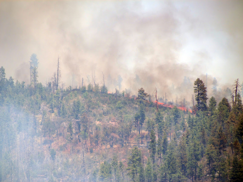 Photo: Bull flat fire in Arizona as seen on May 15th. Credit: Mark Empy/Mark Empy Date: May 16, 2012