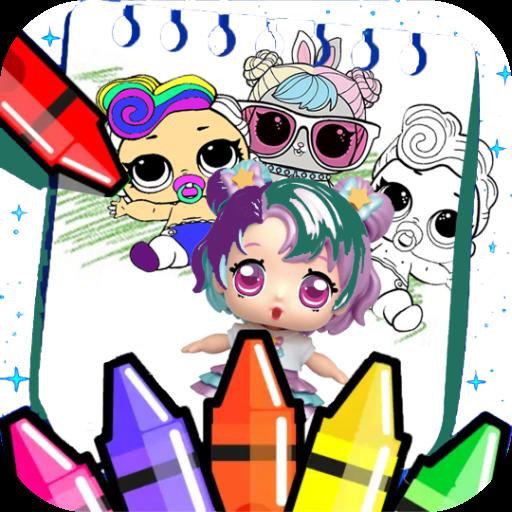 Coloring Dolls Surprise Google Play De Uygulamalar
