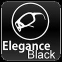 Black Elegance Theme GO SMS icon