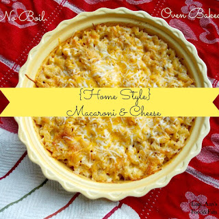 Baked Macaroni & Cheese {No Boil}