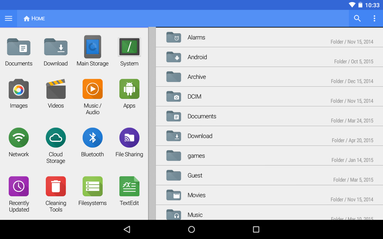File Explorer (Plus Add-On)- screenshot