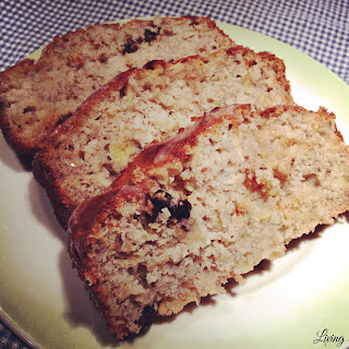 Banana Apple Raisin Loaf