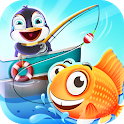 Fishing Games For Kids - Happy Learning Game icon