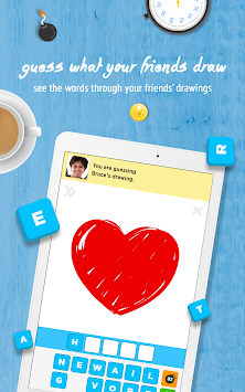 Draw Something Free apk screenshot