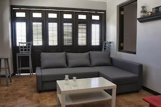 Photo: Living Room with Balcony Doors Closed
