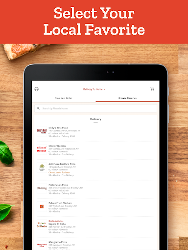 Slice: Order Local Pizza, Delivery & Pickup Deals  screenshots 10
