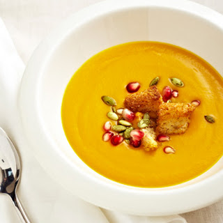 Butternut Squash Soup with Thai Curry and Coconut Milk