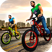 Rooftop Bicycle Stunt Rider 3D