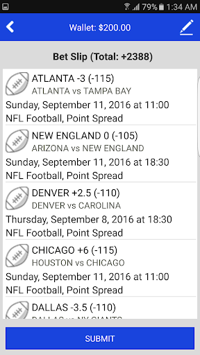 Sports Bettingu2122 Vegas Fantasy 3.5.3 screenshots 4