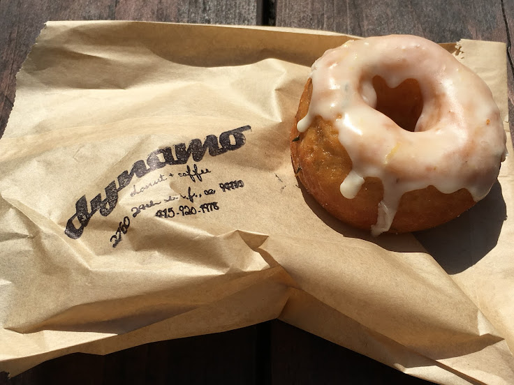 A lemon thyme donut from Dynamo.