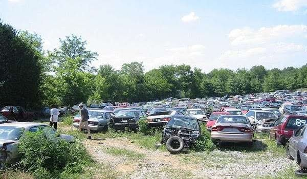 Scrap Yard For Car Parts