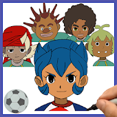 How to draw Inazuma Eleven - Little Giants