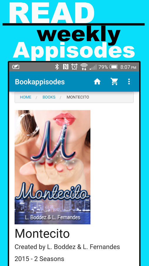Bookappisodes- screenshot