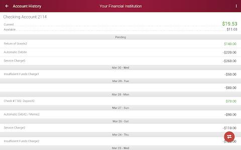 Consumers National Bank screenshot 6