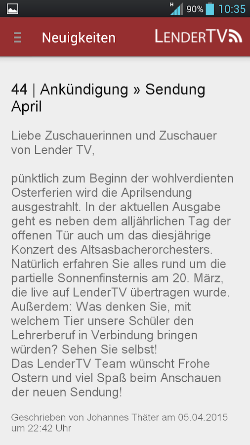 Lender TV- screenshot