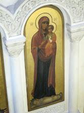 Photo: 235 La Valette, église grecque catholique ND Damas, icône Vierge