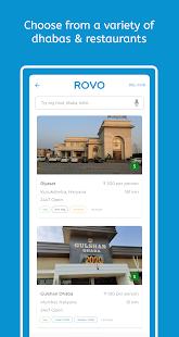 Rovo Trips- Find best dhabas along highways for PC-Windows 7,8,10 and Mac apk screenshot 5