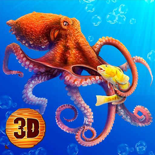 Octopus Underwater Life Sim 3D