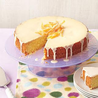 Orange-Olive Oil Cake with Vanilla Glaze