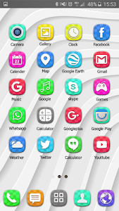 Colorful Launcher Theme FREE screenshot 6
