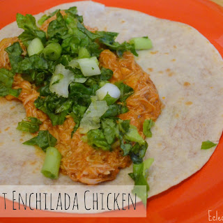 Crockpot Enchilada Chicken