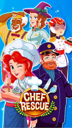 Chef Rescue - Cooking & Restaurant Management Game 2.10.2 screenshots 1