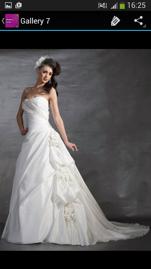 Wedding gowns android apps on google play Wedding dress design app