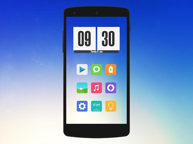 Miu - MIUI 6 Style Icon Pack- screenshot