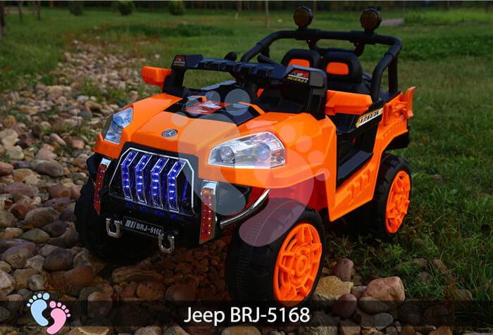 Xe oto điện cho bé Jeep BRJ-5168 11