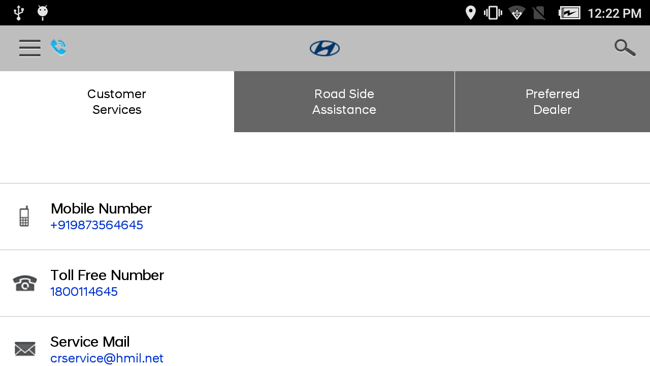 Hyundai Care- screenshot