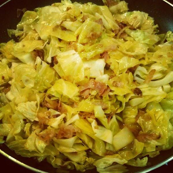 Spicy Cabbage With Cantimpalo Chorizo Recipe