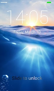 Water Lock Screen - náhled