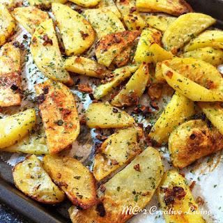 Roasted Onion Potatoes.