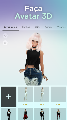 IMVU: Social 3D, Bate-papo virtual c/ amigos reais Screen Shot