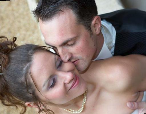 Mariage portrait des maries
