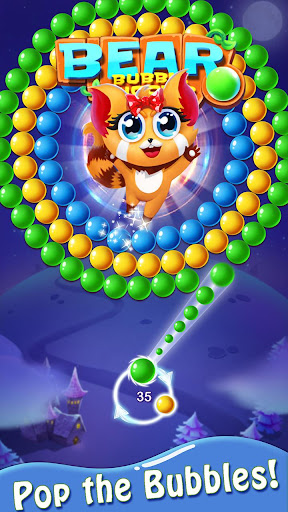 Bubble Shooter : Bear Pop! - Bubble pop games apktram screenshots 3