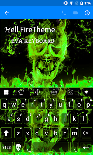 玩免費遊戲APP|下載Death God From Hell Keyboard app不用錢|硬是要APP