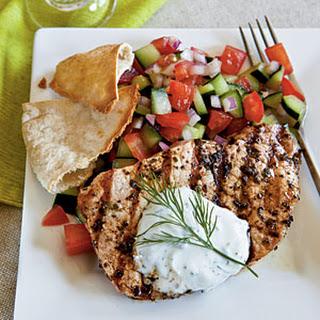 Greek-Style Pork Chops Recipe