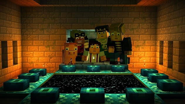 Minecraft: Story Mode APK screenshot thumbnail 12