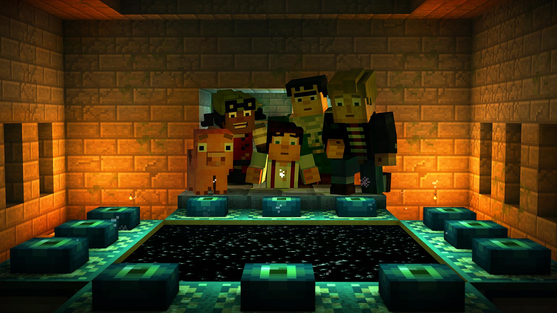 Minecraft: Story Mode screenshot #14