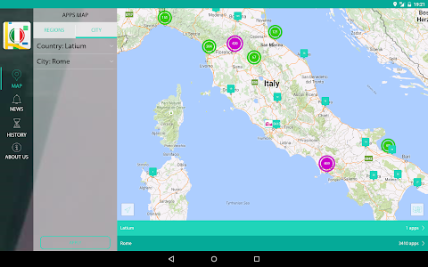 AppsMapper Italy screenshot 7