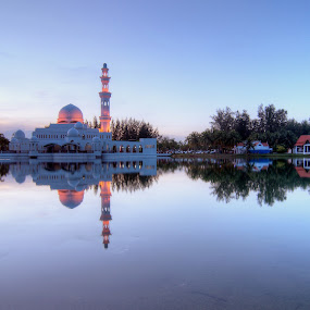 The Floating Mosque by Syahidee Omar - Buildings & Architecture Places of Worship