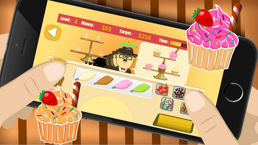 Cupcake Frenzy rush game|玩棋類遊戲App免費|玩APPs