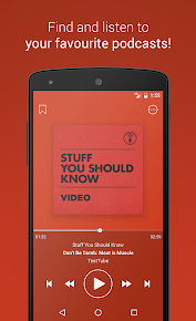 Podcast Go app (apk) free download for Android/PC/Windows screenshot