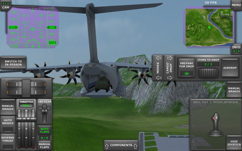 Turboprop Flight Simulator 3D Screenshot 17