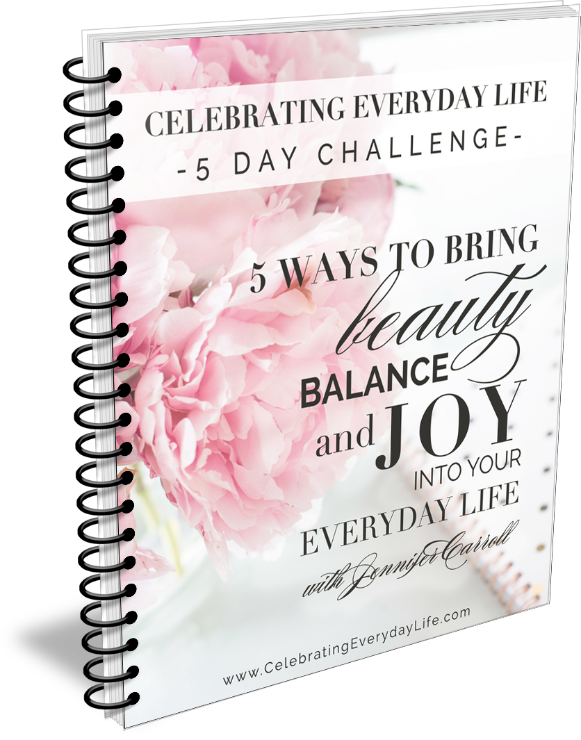 5 Day 5 Ways to bring Beauty, Balance and Joy into your everyday life