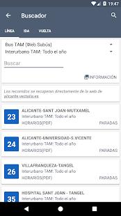 TiempoBus y Tram Alicante - náhled